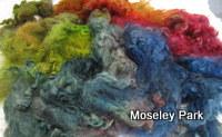 Dyed Grey English Leicester Fleece