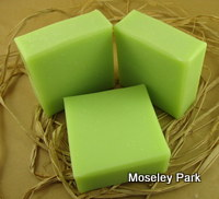 Lime Soda Soap