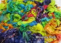 Rainbow Dyed Mohair Locks