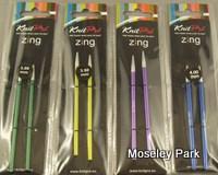 Knit Pro Zing-Interchangeable Circulars -Short Tips